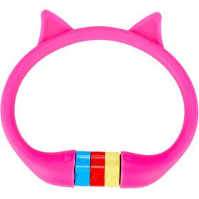 Cube RFR HPS Cijfer Kabelslot Kat Kinderen, roze